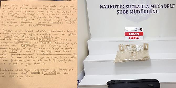 Fiziki Takip İle Kocaeli'nde Uyuşturucu Kuryesi Yakalandı